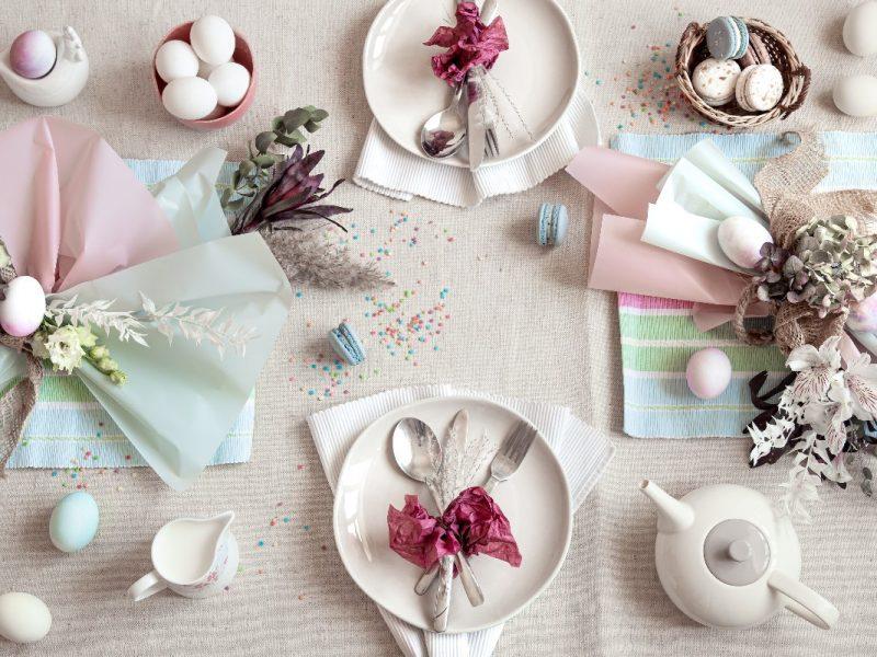 Jak udekorować stół na święta wielkanocne?
